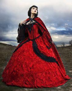Velvet Fantasy Renaissance Medieval Fairy Set with Cape~