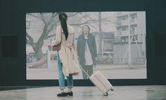 SYNC YELL by au 上京した瞬間に、地元からのサプライズエール