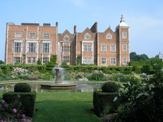 Hatfield House, England. The home where Queen Elizabeth I spent most of her life.