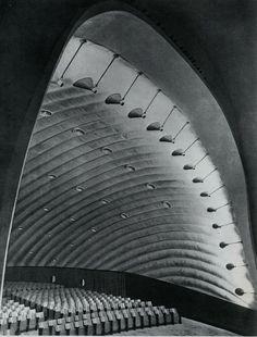 Cinema Airone - Adalberto Libera + Giuseppe Capogrossi - Rome, 1952-56