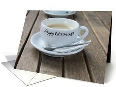 Retirement Cup of Coffee Card
