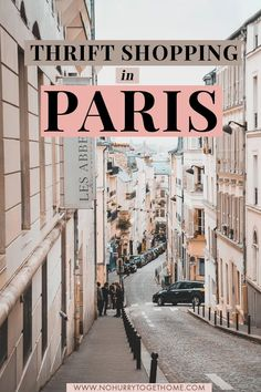 Thrift Shopping in Paris: A Guide From A Second-Hand Shop Addict Traveling to Paris soon? If you're looking for unique things to do and to explore Paris like a local, then I've put together the best hidden gems Paris has… Continue Reading → - Paris France Travel, Paris Travel Guide, Europe Travel Tips, European Travel, Budget Travel, Europe Budget, Europe Europe, Traveling Europe, Backpacking Europe