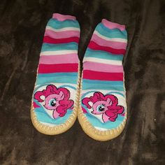 Slipper socks My little pony kawaii for all those hard ass girls out there Intimates & Sleepwear