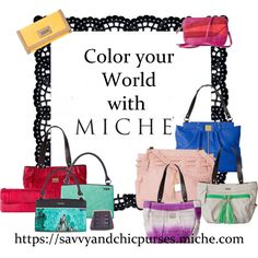 Color your world with Miche Handbags
