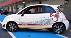 2012 Fiat 500 Abarth  Scorpion Car  Tell us if you like the Scorpion