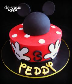 Mickey Mouse cake, Mickey Mouse party