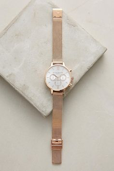 Cecile Mesh Watch