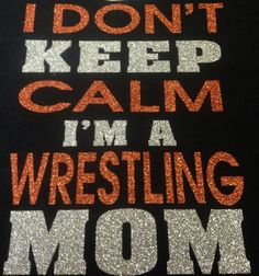 Wrestling Mom tshirt by TripleMEmbroidery on Etsy, $22.00 #wrestling #mom