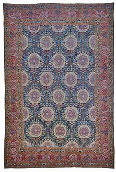 ~ antique Yazd carpet