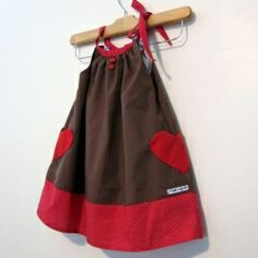 Heart Dress to celebrate a little girl's 1 year post heart transplant anniversary!