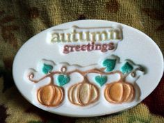 Autumn Greetings Soap Great fall soap for the by heffernanscrafts
