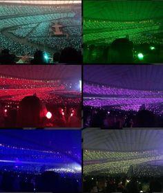Ocean ♥ the Fandom Oceans at TokyoDome Jonghyun, Shinee, K Pop Star, Oceans, Aqua, Fandoms, Pearl, Kpop, Concert