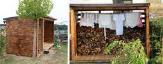 Vysněná zahrada: Dřevo na topení v zahradě Outdoor Firewood Rack, Pavillion, Instagram, Gardening, Home Decor, Firewood, Decoration Home, Room Decor, Lawn And Garden