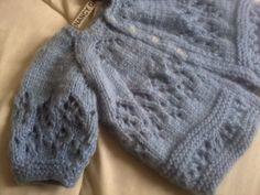 Chambritas para bebé tejidas a dos agujas - Imagui