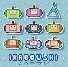 KATAMARI DAMACY Inspired Stickers by IkaBoushi on Etsy, $7.00