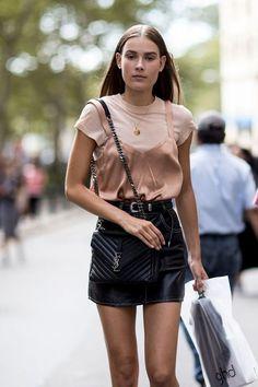 Best Street Style New York Fashion Week Spring 2017 Part I.... - Street Fashion