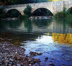 Puente sobre el Pisuerga en Astudillo