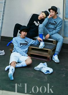 BTS in 1st Look represent PUMA #3