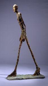 """""""L'Homme Qui Marche"""" Giacometti"""