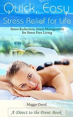 Quick, Easy Stress Relief For Life: Stress Reduction, Stress Management for Stress Free Living Stress Relief Tips, Natural Stress Relief, Stress Free, Anxiety Thoughts, Anxiety Help, Anxiety Facts, Stress Management Strategies