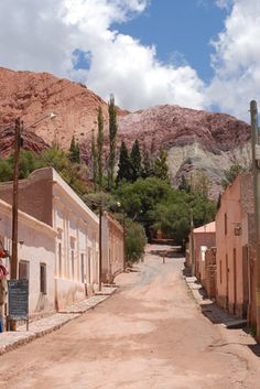 Purmamarca, Argentina (mountain of 7 colors) Id do anything to go back! Visit Argentina, Argentina Travel, Central America, South America, Travel Around The World, Around The Worlds, Chile, Travel Sights, Les Continents