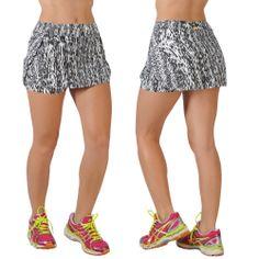 Saia Short Fitness Estampada Nanda LT5461 -