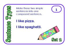 Simple, Compound, and Complex Sentence Posters - FREE! - Minds in Bloom Teaching Language Arts, Teaching Writing, Writing Skills, Writing Activities, Writing Ideas, Teaching Resources, Simple And Compound Sentences, Complex Sentences, Types Of Sentences