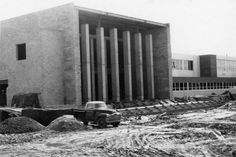 Technical Memorial Jr. High School at 3325 Cherry Street under construction in March of 1956.