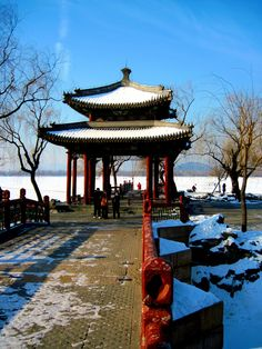 The Summer Palace - Beijing - In Winter