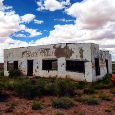 Painted Desert Trading Post, on the old Route 66, now on private land.