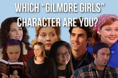 """Which Character From """"Gilmore Girls"""" Are You?  I got Rory!!  You're intelligent, conscientiousness, and extremely sensitive to people around you. Although you tend to be a bit reserved and a bookworm, you still know how to cut loose with the best of 'em. Though some people may see you as the goody-goody, there's more to you than that."""
