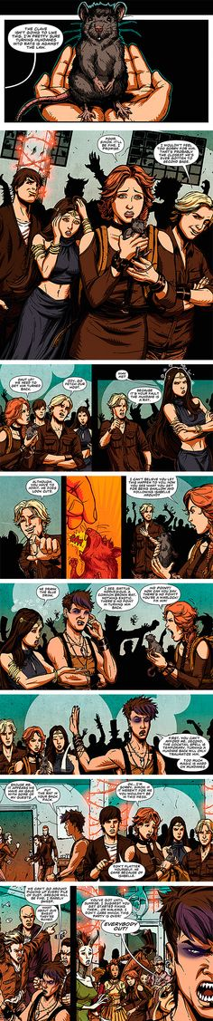 The Mortal Instruments: City of Bones Graphic Novel Issue #6