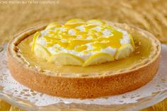 La tarte au citron d'Arnaud Larher – Box Fou De Pâtisserie