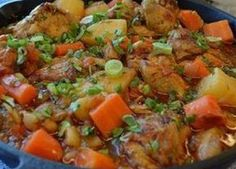 Flan, Pot Roast, Chicken Recipes, Recipe Chicken, Food And Drink, Healthy Recipes, Cooking, Ethnic Recipes, Kitchen