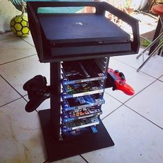 Hermoso mueble para Ps4 Xbox etc!!  créditos para el creador #game #workout #Play #progress #like #goodnight #instago #retro #gamer #xbox #playstation #sonic #boy #gaming #gamecube #lifeisgood #latino #bodybuilding #hobby #socute #black #vscocam #fitfam #girls #instagramers #igers #instagood #house #l4l #selfie