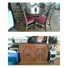 Kitchen Table & Buffet in Lakeland, FL (sells for $150)