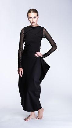 PUDU z Pakamera.pl - quotyou have to wear clothes so why not wear beautifulclothes? Vivienne Westwood, High Neck Dress, My Style, How To Wear, Clothes, Dresses, Fashion, Vestidos, Moda
