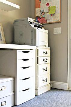 Great printer stand idea