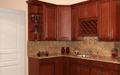 Check out this beautiful Landmark Brandy #traditional #kitchen design @RandDConcepts