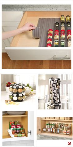 Cabinet Ideas Kitchen - CLICK PIN for Lots of Kitchen Cabinet Ideas. 49589866 #cabinets #kitchenstorage