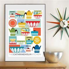 ACHICA | Visual Philosophy - Catherineholm Kitchen, Fine Art Print, 30 x 42cm