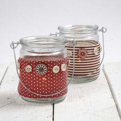 13145 Lanterns with a Vivi Gade Design Fabric Waist Band