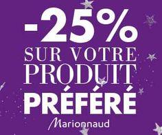 Marionnaud : -25% sur son produit préféré ou sur les coffrets grâce à des codes promo | Maxi Bons Plans