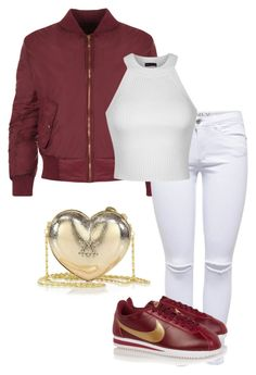 """Untitled #213"" by xoxo-maneshass on Polyvore featuring WearAll, Lipsy, Ally Fashion and Love Moschino"