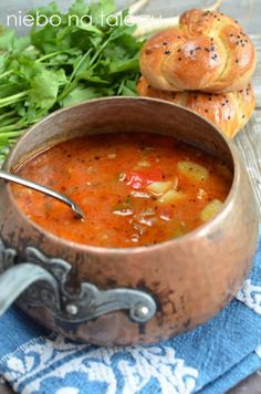 Jak się robi zupę gulasz Soup Recipes, Dinner Recipes, Cooking Recipes, Healthy Recipes, B Food, Good Food, Yummy Food, Vegan Soups, One Pot Meals