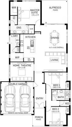 Avalon, Single Storey Floor Plan, WA $191k