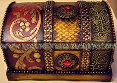 Apostila de pintura Decorativa Rose Menezes: Baú Beltrame