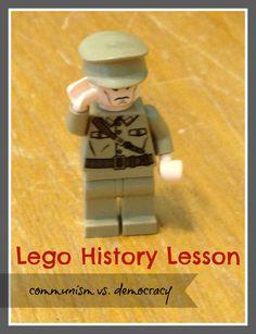 Lego History Lesson: Communism/Democracy