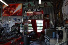 The Legendary Garage: Fuller Hot Rods...a cool garage visit!