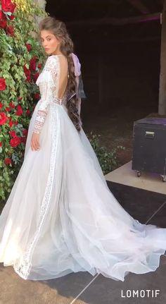 Our tender wedding dress Alyfi by RARA AVIS - Hochzeitskleid Wedding Dress Sketches, Fancy Wedding Dresses, Country Wedding Dresses, Elegant Wedding Dress, Wedding Gowns, Victorian Wedding Dresses, 1970s Wedding Dress, Wedding Hijab, Wedding Cakes